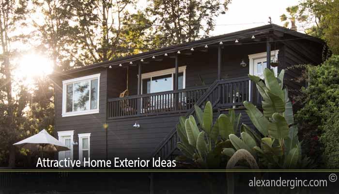 Attractive Home Exterior Ideas