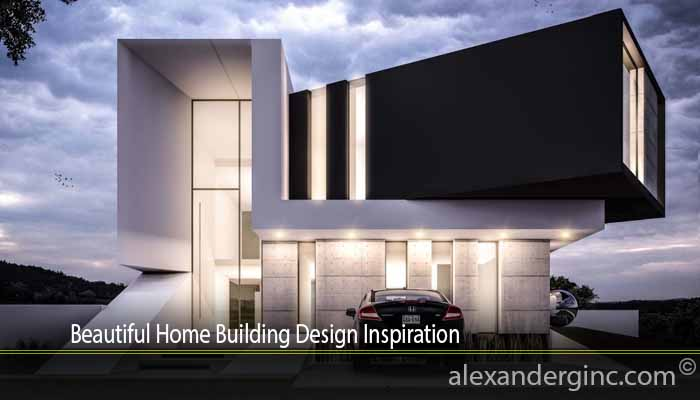 Beautiful Home Building Design Inspiration
