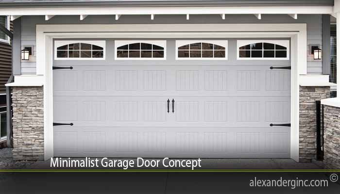 Minimalist Garage Door Concept