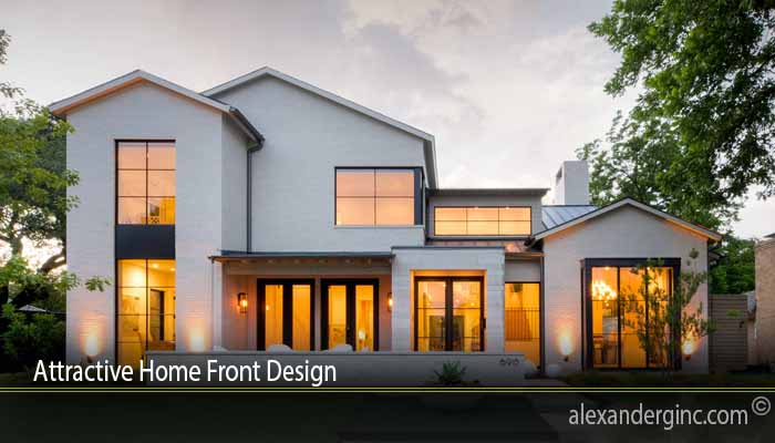 Attractive Home Front Design